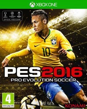 Copertina Pro Evolution Soccer 2016 - Xbox One