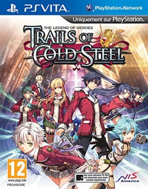 Copertina The Legend of Heroes: Trails of Cold Steel - PS Vita