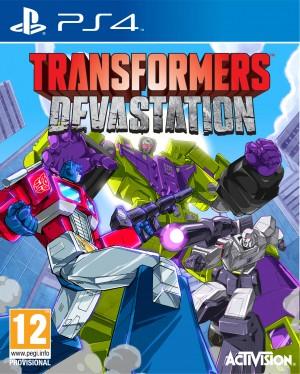 Copertina Transformers: Devastation - PS4