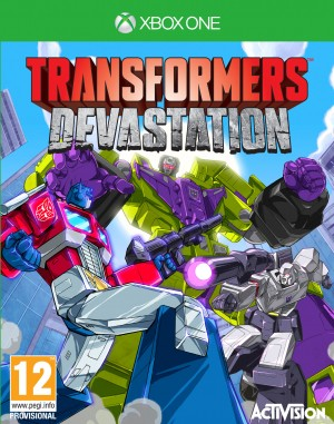 Copertina Transformers: Devastation - Xbox One
