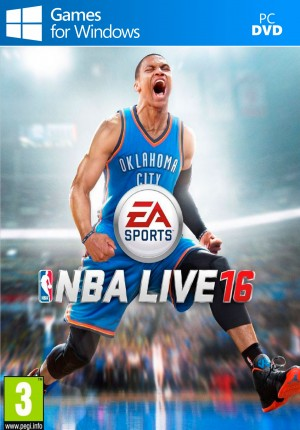 Copertina NBA Live 16 - PC