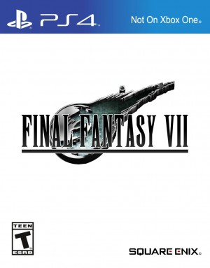 Copertina Final Fantasy VII Remake - PS4