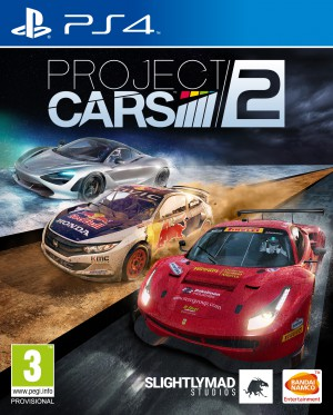 Copertina Project CARS 2 - PS4
