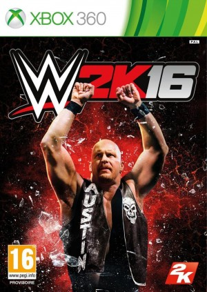 Copertina WWE 2K16 - Xbox 360