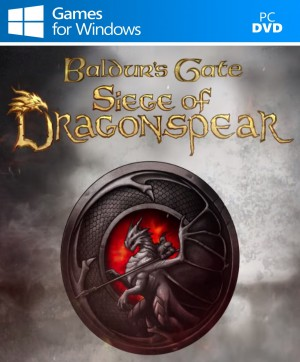 Copertina Baldur's Gate: Siege of Dragonspear - PC