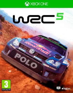 Copertina World Rally Championship 5 - Xbox One