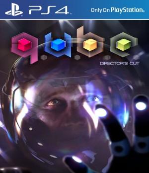 Copertina Q.U.B.E. - Director's Cut - PS4