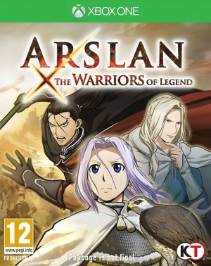 Copertina Arslan: The Warriors of Legend - Xbox One