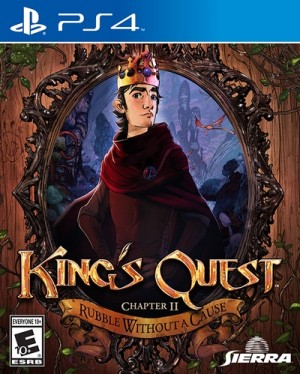 Copertina King's Quest Episode 2: Rubble Without a Cause - PS4