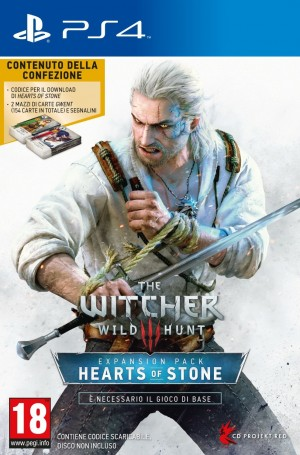 Copertina The Witcher 3: Hearts of Stone - PS4