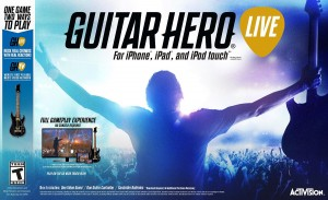 Copertina Guitar Hero Live - iPad