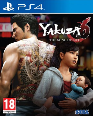 Copertina Yakuza 6: The Song of Life - PS4