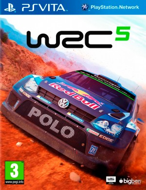 Copertina World Rally Championship 5 - PS Vita