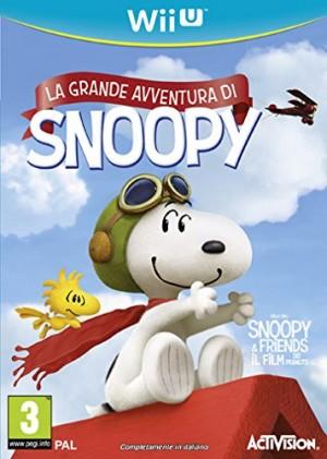 Copertina Peanuts: La Grande Avventura di Snoopy - Wii U
