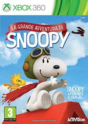 Copertina Peanuts: La Grande Avventura di Snoopy - Xbox 360