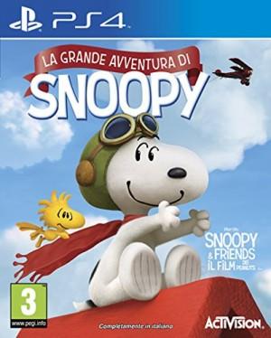 Copertina Peanuts: La Grande Avventura di Snoopy - PS4