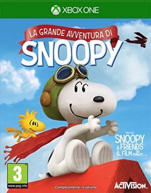 Copertina Peanuts: La Grande Avventura di Snoopy - Xbox One