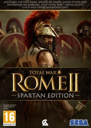 Copertina Total War: ROME II - Spartan Edition - PC