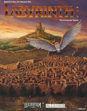 Copertina Labyrinth: The Computer Game - PC