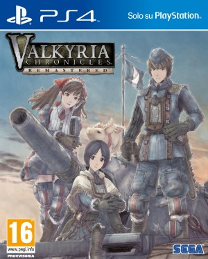 Copertina Valkyria Chronicles Remastered - PS4