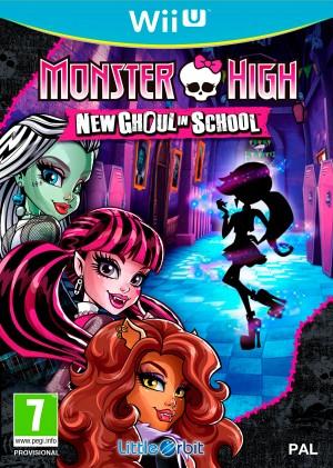 Copertina Monster High: Una Nuova Mostramica a Scuola - Wii U