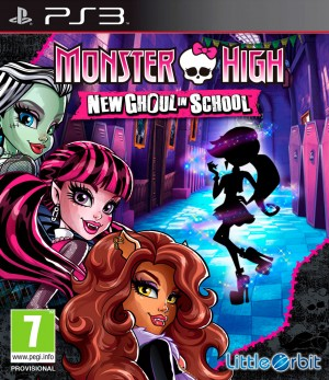 Copertina Monster High: Una Nuova Mostramica a Scuola - PS3
