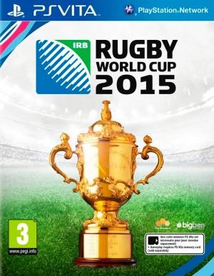 Copertina Rugby World Cup 2015 - PS Vita