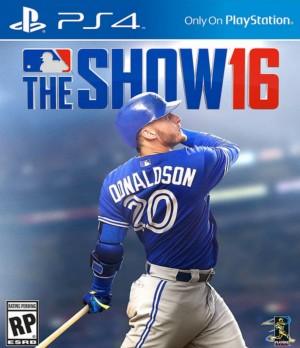 Copertina MLB The Show 16 - PS4