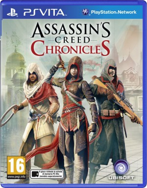 Copertina Assassin's Creed: Chronicles Pack - PS Vita