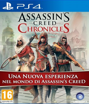 Copertina Assassin's Creed: Chronicles Pack - PS4