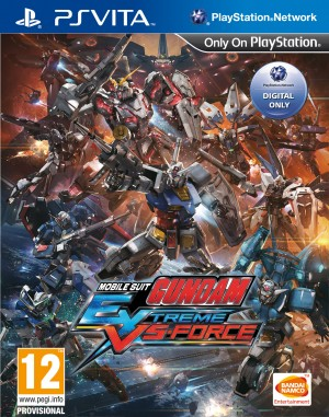 Copertina Mobile Suit Gundam Extreme VS-Force - PS Vita