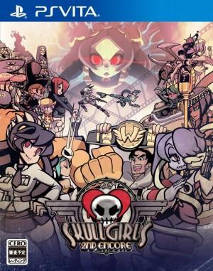 Copertina Skullgirls 2nd Encore - PS Vita