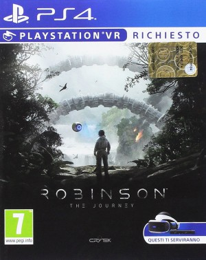 Copertina Robinson: The Journey - PS4
