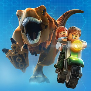 Copertina LEGO Jurassic World - iPad