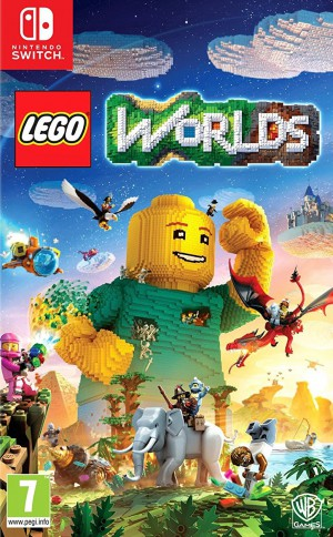 Copertina LEGO Worlds - Switch