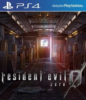 Copertina Resident Evil 0 HD Remaster - PS4