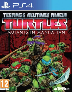 Copertina Teenage Mutant Ninja Turtles: Mutanti a Manhattan - PS4