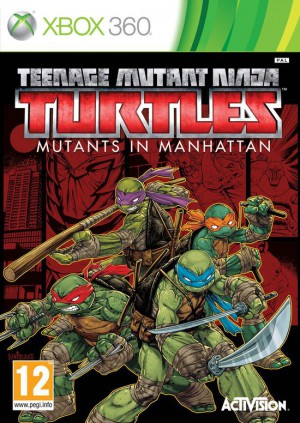 Copertina Teenage Mutant Ninja Turtles: Mutanti a Manhattan - Xbox 360