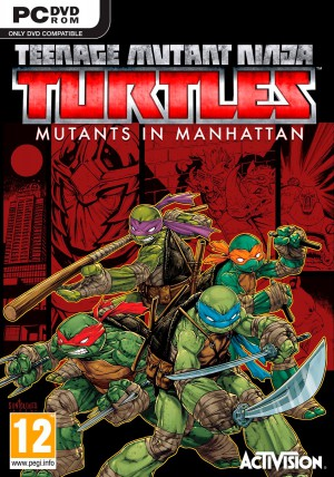 Copertina Teenage Mutant Ninja Turtles: Mutanti a Manhattan - PC