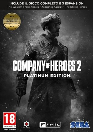 Copertina Company of Heroes 2: Platinum Edition - PC