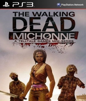 Copertina The Walking Dead Michonne - Episode 1: In Too Deep - PS3