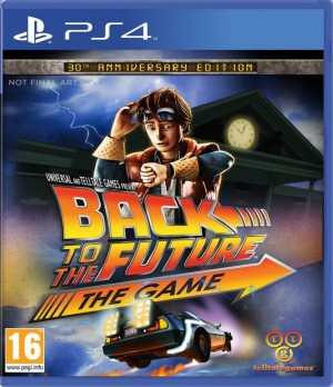 Copertina Back To The Future: The Game - 30th Anniversary Edition - PS4