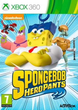 Copertina Spongebob Heropants - Xbox 360
