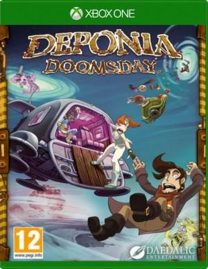 Copertina Deponia Doomsday - Xbox One