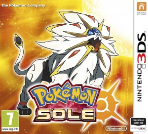 Copertina Pokémon Sole e Luna - 3DS