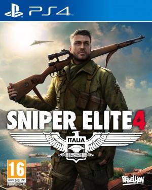 Copertina Sniper Elite 4 - PS4