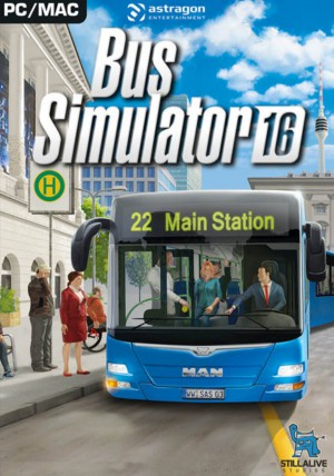 Copertina Bus Simulator 16 - PC