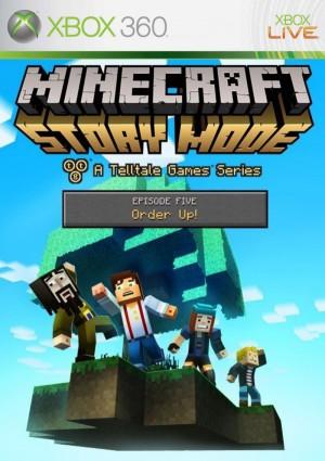 Copertina Minecraft Story Mode - Episode 5: Order Up - Xbox 360