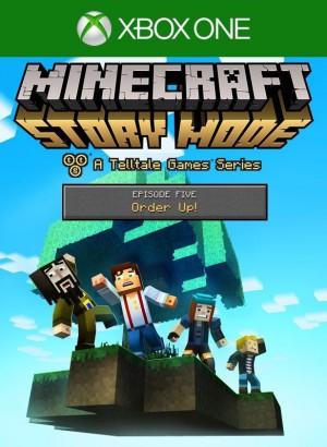 Copertina Minecraft Story Mode - Episode 5: Order Up - Xbox One
