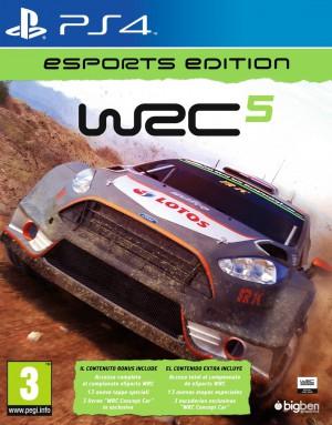 Copertina WRC 5 - eSports Edition - PS4